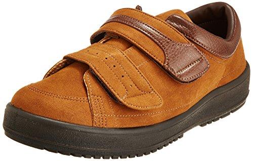 [ムーンスター] メンズ リハビリ 介護靴 Vステップ04 (両足同サイズ) 0088as ブラウン 24.0 cm 3E