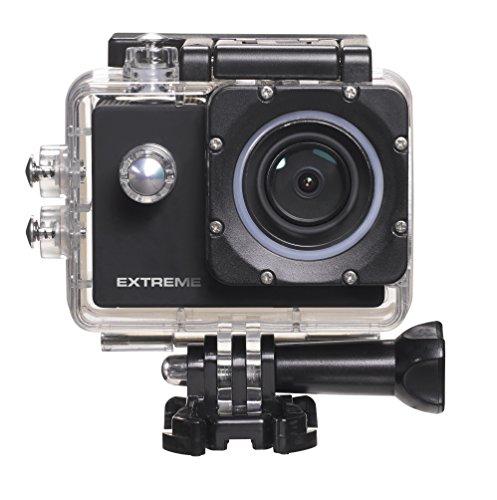 Nikkei ExtremeX6 ULTRA HD actiecamera met WIFI, 4K 30FPS Full HD 60FPS 720P-120FPS WiFi scherm, zwart
