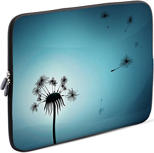 Sidorenko Laptop Tasche für 17-17,3 Zoll | Universal Notebooktasche Schutzhülle | Laptoptasche aus Neopren, PC Computer Hülle Sleeve Case Etui, Hellblau