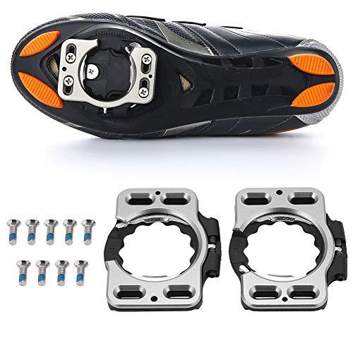 DaMohony Convertidor de Adaptador de Cubierta de Cala de Zapatos de Ciclismo de Liberación Rápida para Speedplay Zero Pavimento/Acción Ultraligera X1 X2 X5