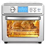Air Fryer, 12.7QT Air Fryer Oven 8-in-1, 1700W Electric Rotisserie Oven with LED Digital Touchscreen, Toaster Oven with Dehydrator & Bake, Included 11 Accessories and Recipe