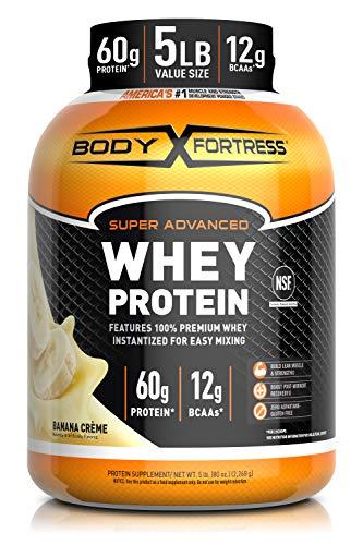 Body Fortress Whey Protein Powder 5 lb,...