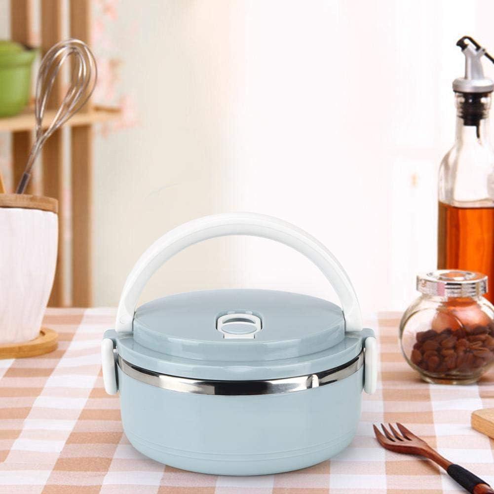 【Cadeau d'Avril】Fiambrera portátil, caja bento para comestibles, para acampar en casa(Single layer)