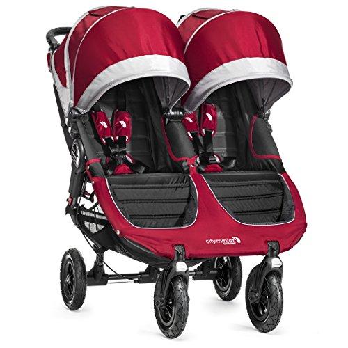 Baby Jogger Poussette City Mini GT Double Cramoisi