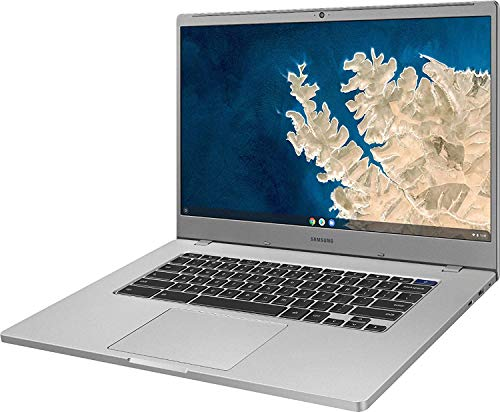 "2020 Latest Samsung Chromebook 4+ 15 Laptop Computer 15.6"" FHD 1080P WLED Display Intel Celeron Processor N4000 4GB RAM 32GB eMMC 128GB SD Card USB-C Bluetooth Webcam Chrome OS Renewed)"