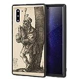 Berkin Arts Albrecht Durer Custodia per Samsung Galaxy Note 10/Custodia per Cellulare Art/Stampa giclée UV sulla Cover del Telefono(El gaitero)