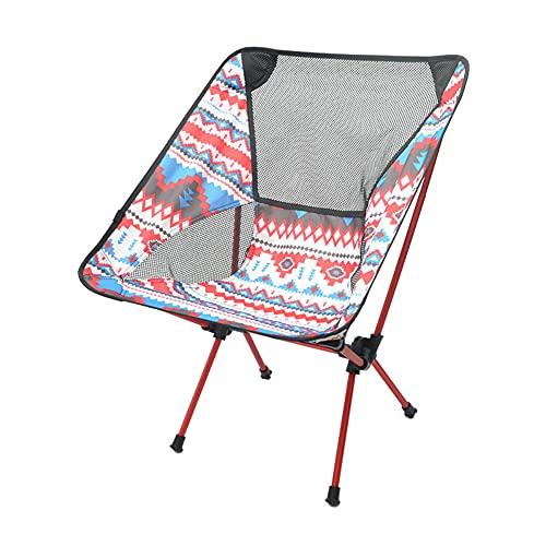 Sillas de camping de alta calidad, ultra ligeras, silla de camping compacta y cómoda para picnic, playa y pesca, silla para adultos y niños con bolsa de transporte