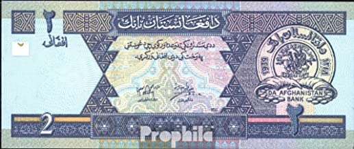 Prophila Billetes para coleccionistas: Afganistán Pick-No.: 65a UNC 2002 2 Afghanis: Amazon.es: Juguetes y juegos