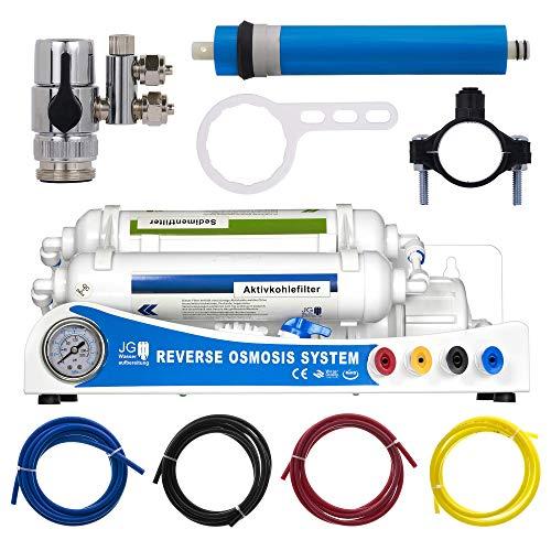 Guemmer products Osmoseanlage Premium Plus 100 GPD 380l/Tag für sauberes Wasser