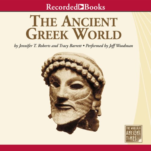 The Ancient Greek World audiobook cover art
