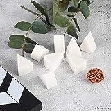 Set di spugne a cuneo per spugne cosmetiche a forma di triangolo da 8 pezzi Set di spugne per pittura per il viso per uso trucco