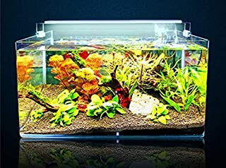 B&K LED Aquarium Lighting Ultra thin, Ultra bright planted Reef Coral Marine Bracket Lamp With Extendable Stainless Steel...