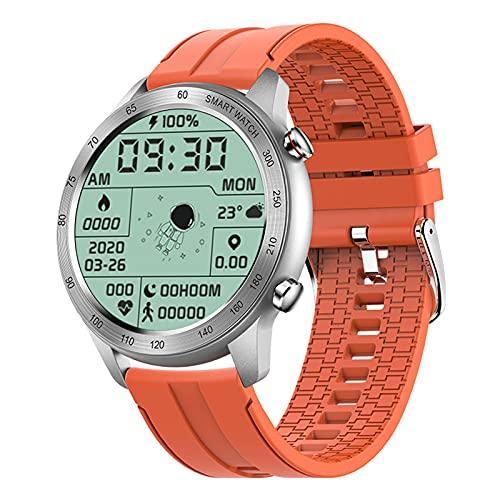 ZGNB MX5 Smart Watch, Chiamata Bluetooth, Riproduzione Musicale MTE, IP68 Impermeabile, Monitor per La Pressione Sanguigna, Fai da Te Smartwatch PK TK88 per Android iOS,M