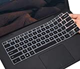CaseBuy Keyboard Cover for 2020 New Dell XPS 15 9500 15.6 Laptop / New XPS 17 9700 17' Laptop, Dell XPS 9500 Keyboard Protective Skin, Black