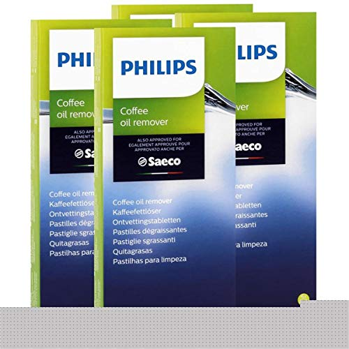 Philips Saeco CA6704/10 Kaffeefettlöser - 6 Tabletten á 1,6g (4er Pack)