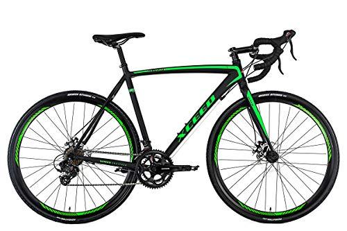 KS Cycling Rennrad 28'' Xceed Gravelbike schwarz-grün RH 58 cm