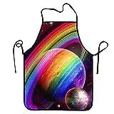 Not Applicable Delantales Babero Delantales Heavy Rainbow Delantal Divertido...