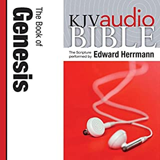 King James Version Audio Bible: The Book of Genesis cover art
