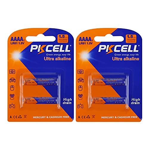 AAAA LR61 AM6 E96 MN2500 MX2500 LR8D425 Batería alcalina de 1.5V para Surface Pen 4pcs