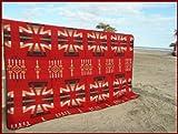 RUG&PIECE ネイティブ柄 エクストラメキシカンラグマットカバー 240cm×225cm