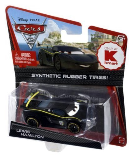 Disney/Pixar Cars 2 Movie Exclusive Lewis Hamilton with Synthetic Rubber Tires 1:55 Scale by