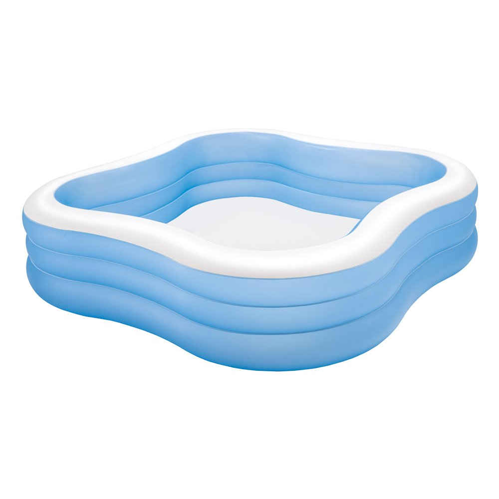 Intex 57495NP - Piscina hinchable cuadrada 229 x 56 cm, 1.250 ...