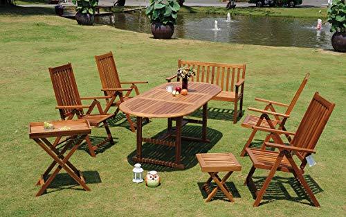 Consul Garden FSC® Acaciahouten meubelset ECO ECO-BOX FSC 8-delig 55477 665055