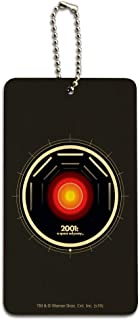 2001: A Space Odyssey Hal Wood Luggage Card Suitcase Carry-On ID Tag