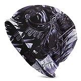 TYHYT Hombres adultos 'con sombrero cálido y suave Disección de la tapa del jersey Tormenta de la luz' con Bane Sombrero de punto de diseño único para hombres y mujeres Negro