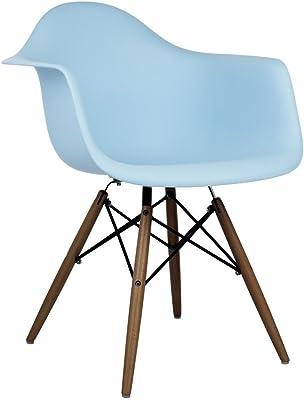 Swell Amazon Com Emoderndecor Inc Ariel White Plastic Dining Cjindustries Chair Design For Home Cjindustriesco