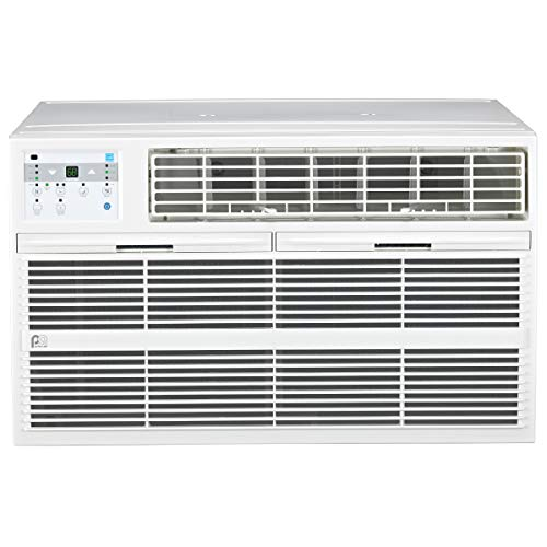 Perfect Aire 4PATW10002 10,000/9,800 BTU Thru-the-Wall Air Conditioner with Remote Control, EER...