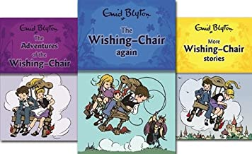 Enid Blyton The Wishing Chair Books Collection Set Pack (The Adventures of the Wishing-chair, The Wishing-chair Again, More Wishing-chair Stories) (Enid Blyton The Wishing Chair Collection)