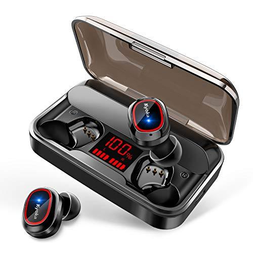 【第2世代 最新Bluetooth5.1技術】 Bluetooth イヤホン HiFi高音質 LEDディスプレイ 蓋を開けて瞬間ペアリ...