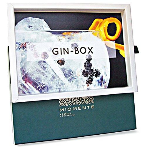 Miomente GIN-Box: Das Gin-Geschenk für Gin-Fans - Gin-Tasting-Gutschein