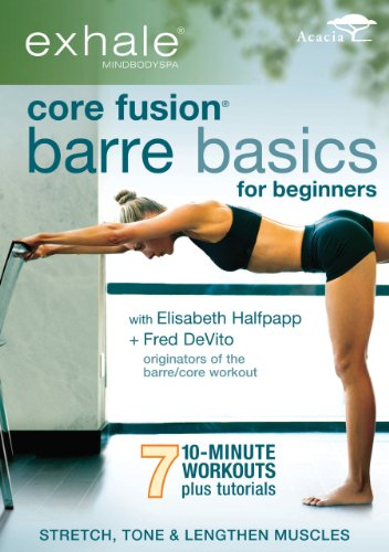 Exhale: Core Fusion Barre Basics For Beginners [DVD] [Region 1] [NTSC] [US Import]