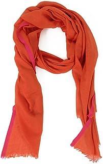 543438dbeb4a8 HINZE ( SH110 ) Echarpe en soie / laine, couleur: rouge, dimensions: