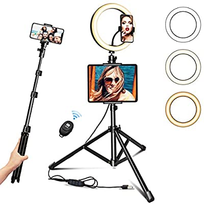 """Ring Light with Tripod Stand 10.2"""" Selfie R..."""