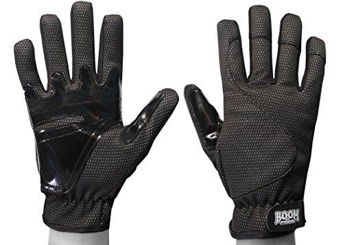 BOOM Prime Guantes térmicos de invierno para motocicleta, impermeables, resistentes al viento, con dedos completos, para motocross, bicicletas, MTB, deportes, sillas de ruedas XL