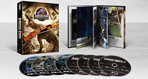 Jurassic Park: 25th Anniversary Collection (4K UHD + Blu-Ray + Digital) $19.99 via Amazon