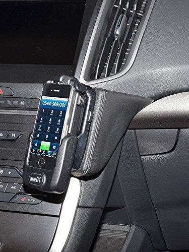 KUDA 2155 Halterung Kunstleder schwarz für Ford Galaxy/S-Max/Edge ab 2015