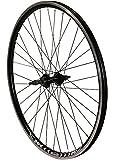 Redondo 26 Zoll Hinterrad Laufrad Hohlkammer V-Profil 26' Felge 5-7-fach Schwarz