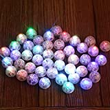 Neo LOONS® 100pcs/lot 100 X Multicolor Round Led Flash Ball Lamp Balloon Light Long Standby time for Paper Lantern Balloon Light Party Wedding Decoration