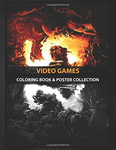 Coloring Book & Poster Collection: Video Games