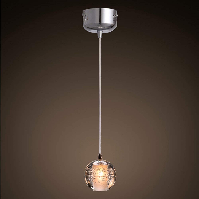 Kristallkugel pendelleuchte moderne einfache für bar, restaurant, bar, bekleidungsgeschft, einzigen kopf beleuchtung