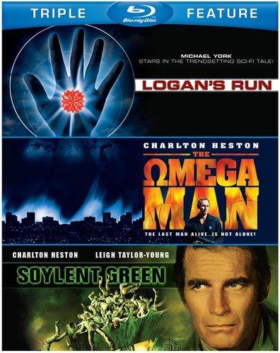 Sci-Fi: Triple Feature (BD) (Soylent Green, Logan's Run, Omega Man) [Blu-ray]