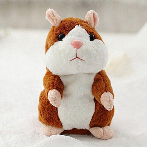 Paulaa 16 cm Divertido hámster ratón Mascota Sonidos Grabado Peluche Juguete Infantil Regalo