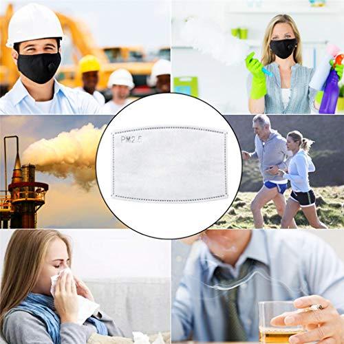 None brand Safety Dust ṁɑѕcḣѐṙɑ,Breathing Valve ṙѐѕṗiṙɑṫọṙѐ with 2 ṖṀ2.5 ḟilṫṙọs for Men Women