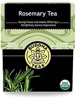 Buddha Teas Organic Rosemary Tea | 18 Bags | Cognitive Stimulant | Improves Memory | Antioxidants | Anti-Inflammatory | Ma...