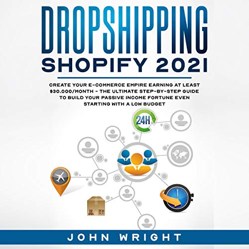 Dropshipping Shopify 2021 cover art