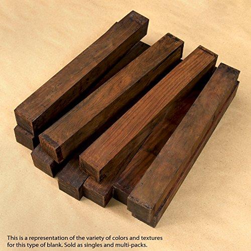 """Legacy Woodturning, Cocobolo Wood Turning Blank, 1 1/2"""" x 1 1/2"""" x 12"""""""